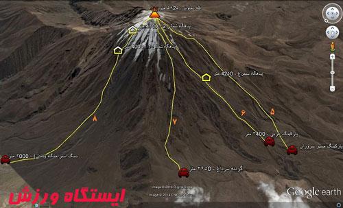 مسیر غربی قله دماوند